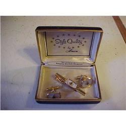 Mason's (fraternal) Cufflinks and tie bar set #1251745