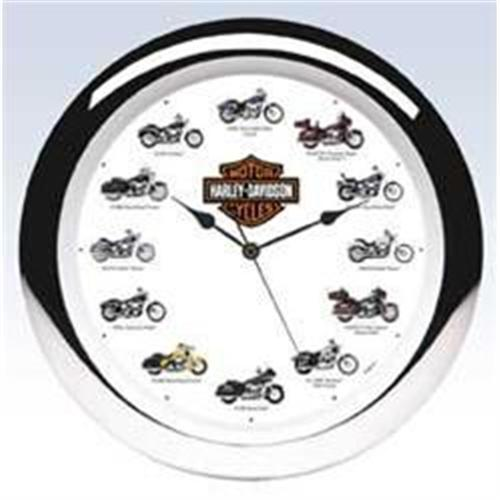Harley-Davidson '05 Motorcycle Clock with Sound#1248180