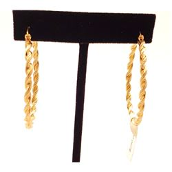 Jewelry - 14k Gold Hoop Earrings