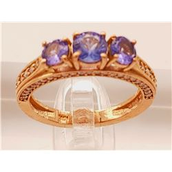 Jewelry - Tanzanite and Diamond Ring