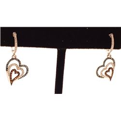 Jewelry - 10K White Gold Hoop Earrings