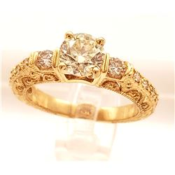 Jewelry - 1 Carat Round Brilliant Diamond Ring