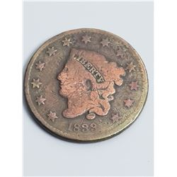 Coins - 1833 Liberty Head Large Cent