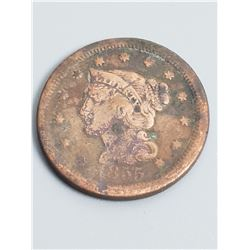 Coins - 1855 Liberty Head Large Cent