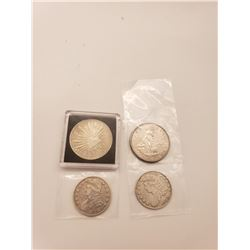 Coins - 4 Silver Coins