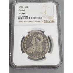 Coins - NGC 1812 50 Cent O-108