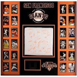 San Francisco Giants 2010 World Series Champions Team Signed Base