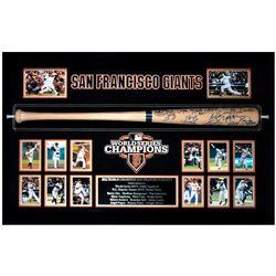 San Francisco Giants 2012 World Series Champions Team Signed Bat