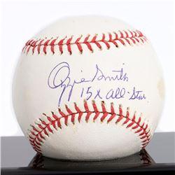 Ozzie Smith Autograph Major League Signed Baseball