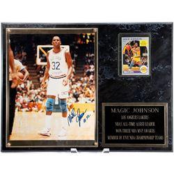 Magic Johnson Autographed Framed Photo