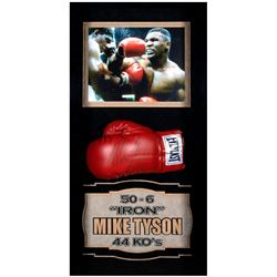 Autographed Boxing Glove By Mike Tyson