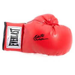 Autographed Roberto Duran boxing glove