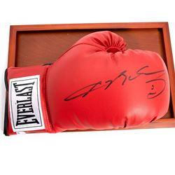 Autographed Boxing Glove By Oscar De La Hoya