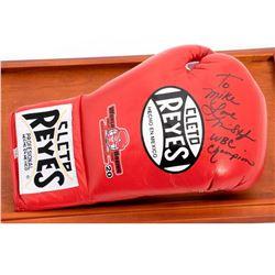 WBC Champion Autographed boxing glove