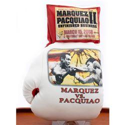 Marquez VS. Pacquiao souvenir boxing glove