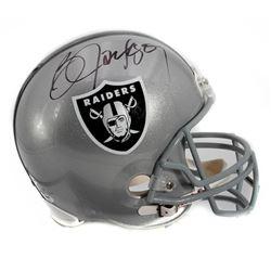 Bo Jackson Autographed Oakland Raiders Helmet