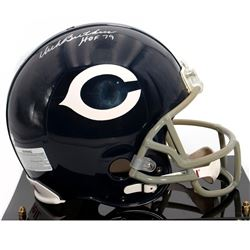 """Dick Butkus Chicago Bears Autographed Riddell Replica Throwback Helmet with """"HOF 79"""" Inscription"""
