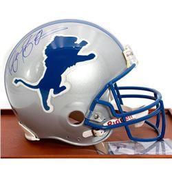 Barry Sanders Autographed Detroit Lions Helmet
