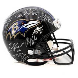 2012 Baltimore Ravens Team Signed Helmet