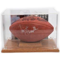Autographed Tim Brown Raiders Wilson Football