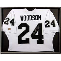 Autographed Charles Woodson Jersey