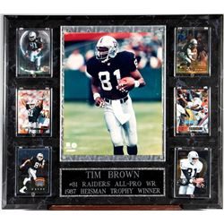Tim Brown #81 Raiders