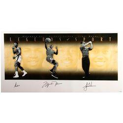"Autographed ""Legends of Sports"""