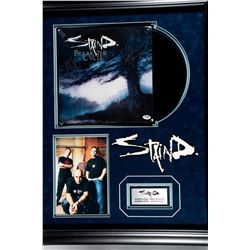 Staind Signed album cover