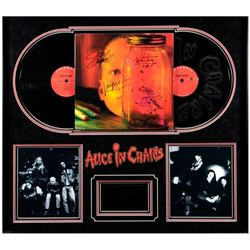 Alice In Chains signed album cover