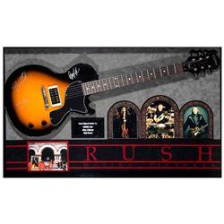 Rush signed guitar