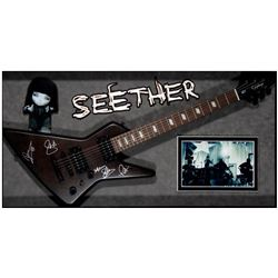 Seether signed guitar