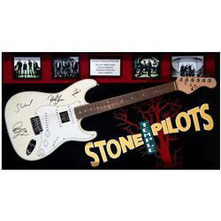 Stone Temple Pilots signed guitar