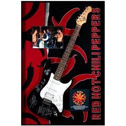 Red Hot Chili Peppers signed guitar