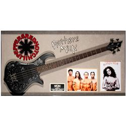 Red Hot Chili Peppers signed guitar.