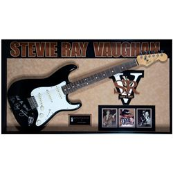 Stevie Ray Vaughan signed Stratocaster