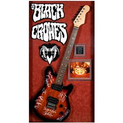The Black Crows signed guitar