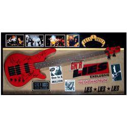 Guns N' Roses signed guitar