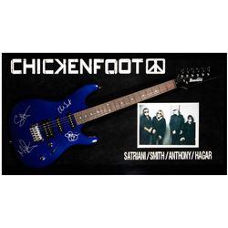 Chicken Foot signed guitar