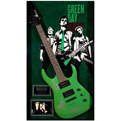 Green Day signed guitar