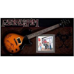 Pearl Jam signed guitar