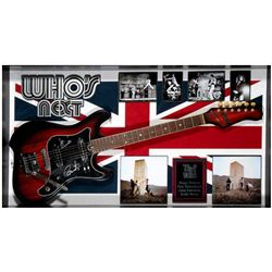 The Who signed guitar