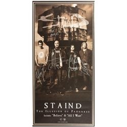 Staind Signed poster