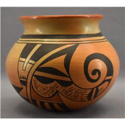 HOPI INDIAN POTTERY JAR ( RONDINA HUMA)
