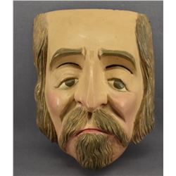 MEXICAN WOODEN MASK