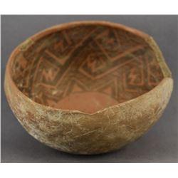 ANASAZI INDIAN POTTERY BOWL
