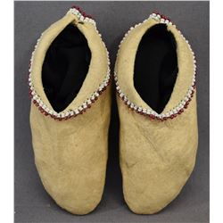 OSAGE INDIAN BABY MOCCASINS