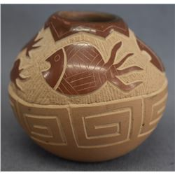 SANTA CLARA INDIAN POTTERY JAR (JODY NARANJO)