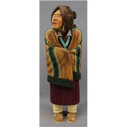NAVAJO INDIAN DOLL (LAWRENCE JACQUEZ )