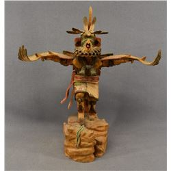 HOPI INDIAN KACHINA ( L. ROY )