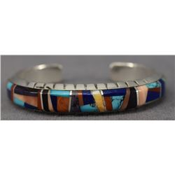 NAVAJO INDIAN BRACELET (LYNOL YELLOWHORSE)